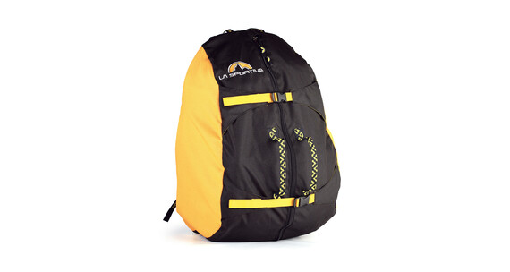 La Sportiva Rope Bag klimrugzak medium geel/zwart
